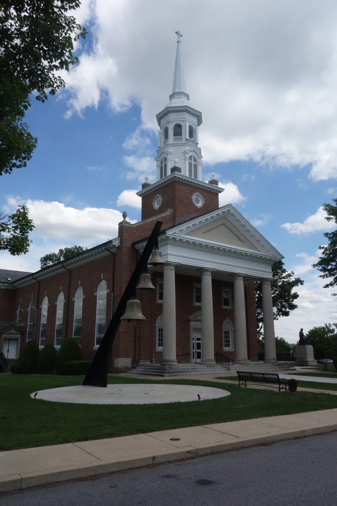 chapel at lutheran theological seminary gettysburg pa