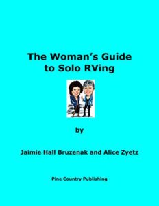 The Woman's Guide to Solo RVing- Books About RV Solo Travel for Women