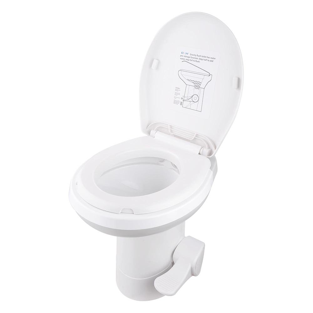 AW Gravity Flush RV Toilet