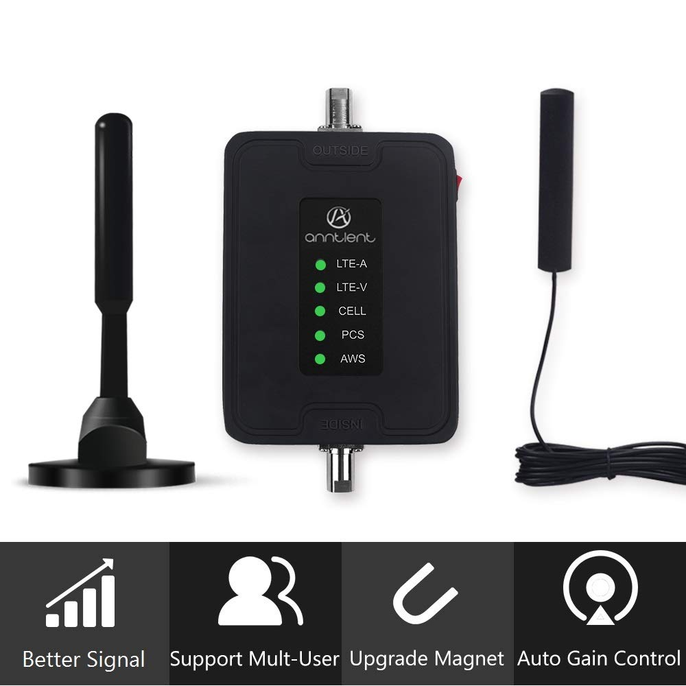 A ANNTLENT Multiple Band Cell Phone Signal Booster