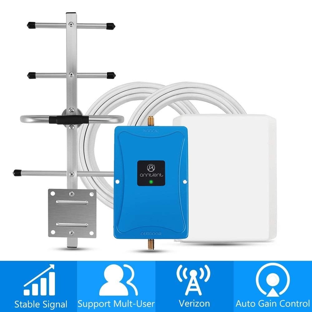 A ANNTLENT Verizon 4G Cell Phone Signal Booster for Home and Office