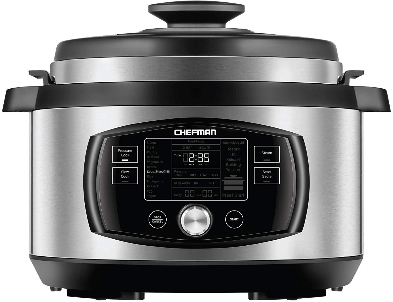 Chefman Oval Multifunctional Pressure Cooker