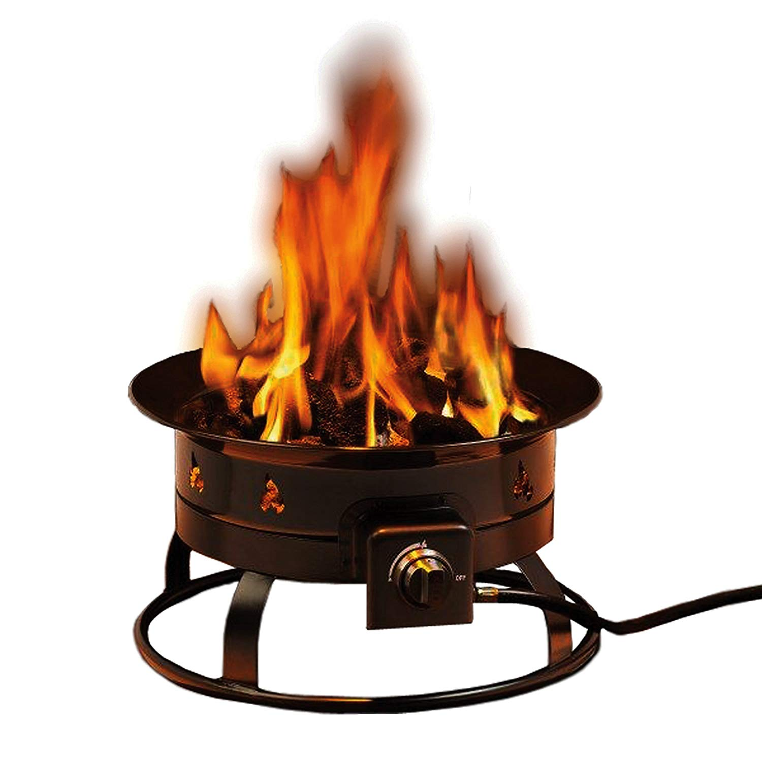 Heininger 5995 - Portable Propane Gas Fire Pit