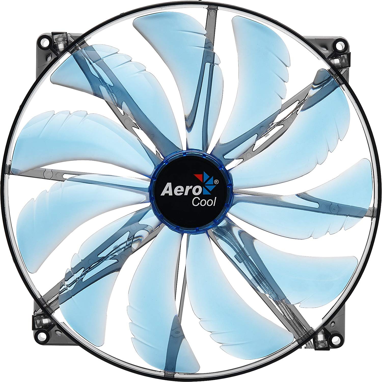 AeroCool Silent Master LED Cooling Refrigerator Fan for RV