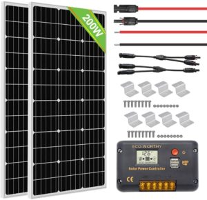 Ecoworthy 200 watts top 10 RV solar panels