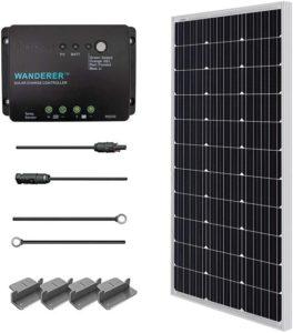 Renology 100 watt 12 volt best solar panels for RV